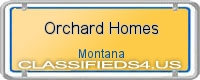Orchard Homes board